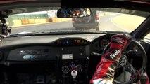Footage - HKS GT86 ,Drifting Tsukuba Circuit Taniguchi N.O.B.