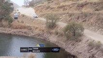 Rallye WRC: Ott Tänak tombe dans l'eau !