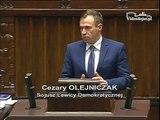 Poseł Cezary Olejniczak - Wystąpienie z dnia 04 marca 2015 roku.