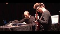 Frederick Galiay - Jean-Sébastien Mariage soundcheck @Présences électronique 2015