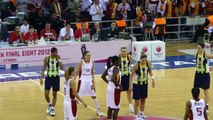 Ambiance Basketball Euroleague Féminin Fenerbahçe Galatasaray  Atmosphere Avant-Match Fans