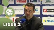Conférence de presse FC Sochaux-Montbéliard - Tours FC (2-1) : Olivier ECHOUAFNI (FCSM) - Gilbert  ZOONEKYND (TOURS) - 2014/2015