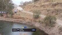 Crash d'Ott Tänak (Rallye du Mexique)