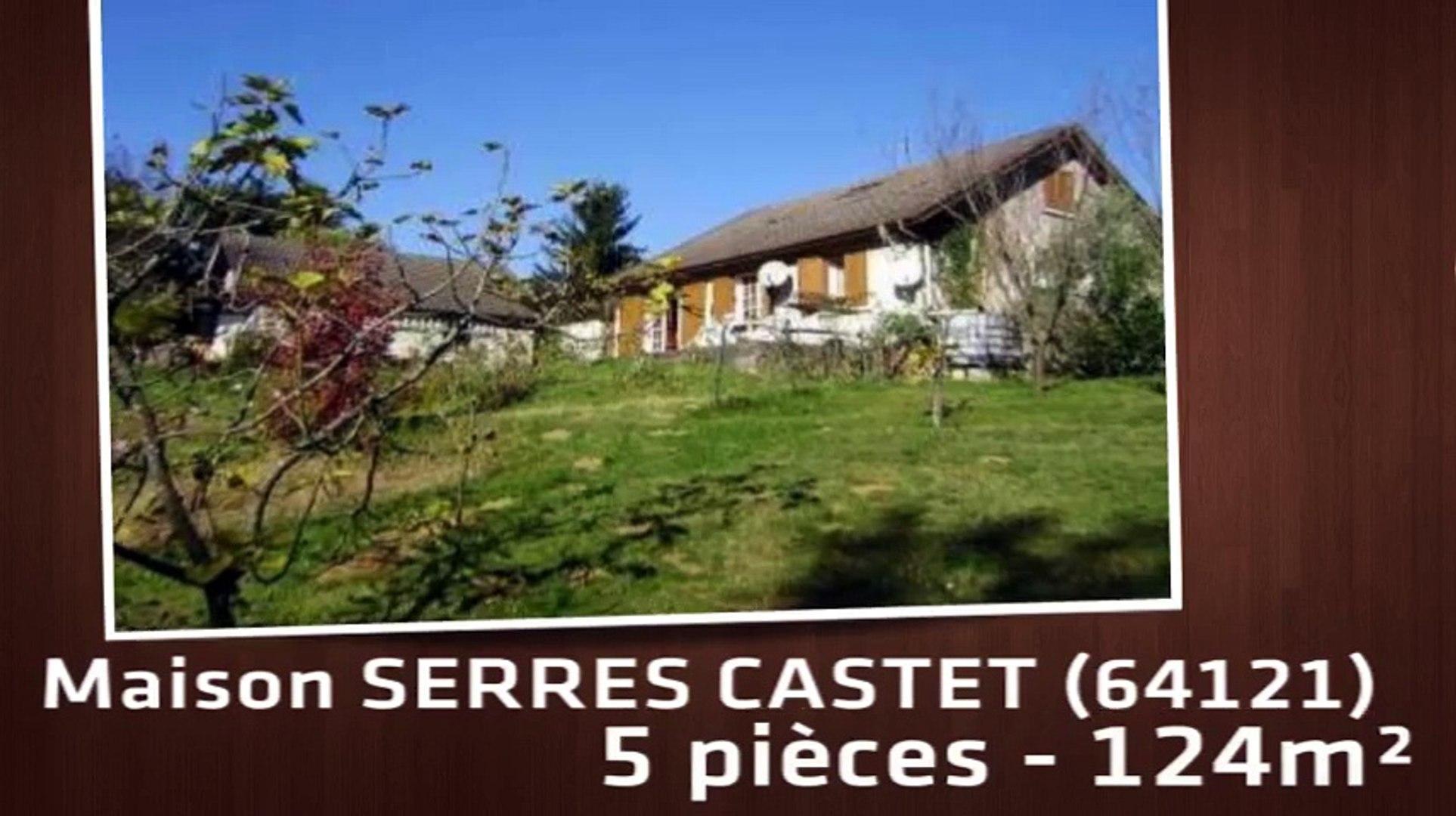 A Vendre Maison Villa Serres Castet 64121 5 Pieces 124m