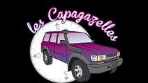 AGDE - 2015 - CAPAGAZELLES  au départ du Rallye des Gazelles 2015