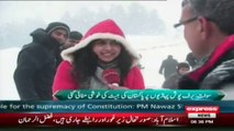 cricket world cup and snow fall in malam jabba by sherin zada