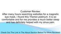 Therion Magnetics Platinum Magnetic Eye & Sinus Mask Review