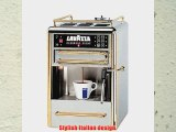 Lavazza 80114 One-Cup Espresso Beverage System Chrome/Gold Stainless Steel