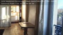 A vendre - appartement - Père Lachaise - Philippe Auguste PARIS (75011) - 2 pièces - 33m²