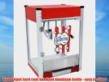 Cineplex-4 Popcorn Machine (Red 4-Ounce)