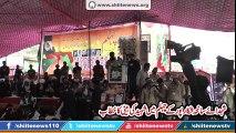 Speech of Daughter of Martyrs at Chehlum of martyrs of Shikarpur