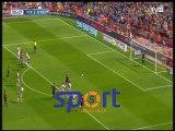"""هدف برشلونة الثالث في ريو فاليكانو """"ميسي"""""""