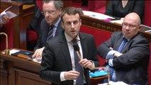 """Emmanuel Macron : """"J'ai reçu des menaces de mort"""""""