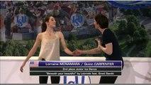 Lorraine MCNAMARA / Quinn CARPENTER - 2015 World Junior Championships - Exhibition