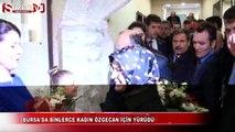 Bursa'da binlerce kadın Özgecan için yürüdü