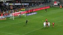 Lucas Barrios Penalty Missed | Montpellier - Lyon 08.03.2015 HD