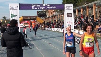 LLegadas Carrera de la Mujer deportista. Valencia 08/03/2015