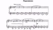 Parfionov Igor Snowdrop Piano piece for young musician Piano Igor Galenkov