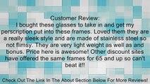 Womens Floral Engraved Prescription Rx-able Glasses Frames Review