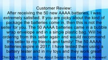 50 NEW AAAA ENERGIZER Batteries Review
