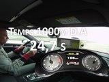 1000 m départ arrêté en Audi S3