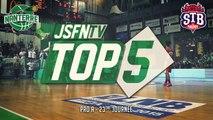 Top 5 - JSF Nanterre vs STB Le Havre (07/03/15) (Pro A - J23)