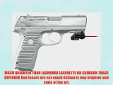 ArmaLaser GTO/FLX Red Laser Sight for Ruger P95 w/Rail GTO/FLX47