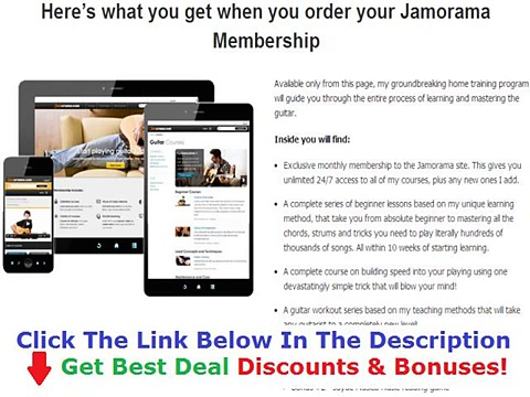 Jamorama The Ultimate Guitar Learning Kit +++ 50% OFF +++ Discount Link