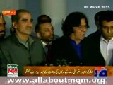 PMLN Leaders meets MQM delegation discuss senate polls & future political scenario