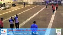 Mène 9, Finale Super 16, Sport Boules, Feurs 2015