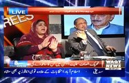 Ali M. Khan (PTI) Vs Mehreen Raja (PPP) On issue Of Murad Saeed In A Live Show