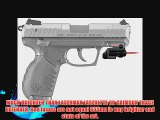 ArmaLaser GTO/FLX Red Laser Sight for Ruger SR22 GTO/FLX48