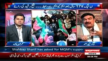 Sheikh Rasheed Exclusive on Takrar With Imran Khan - 9 March 2015 On Express News