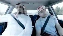 Un prince arabe se fait peur en voiture
