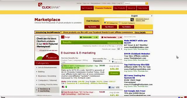 ClickBank Success Tips – CB Surge – Clickbank Analytics and Affiliate Marketing Software