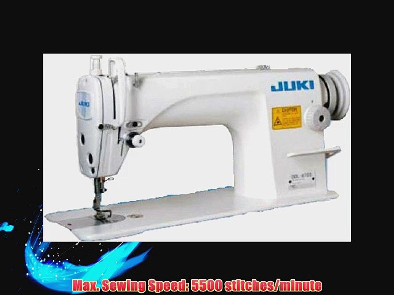 5598dea61f0 Juki DDL-8700 Industrial Straight Stitch Sewing Machine Servo Motor - video  dailymotion