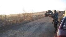 Drunk tank driver FAIL : violent crash! Ukraine drivers are worst than russian drivers