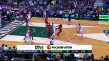 Giannis Antetokounmpo Dunks All Over Pelicans - Pelicans vs Bucks - March 9, 2015 - NBA