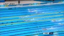 Camille Muffat remporte la médaille d'or sur 400m nage libre aux JO de Londres en 2012