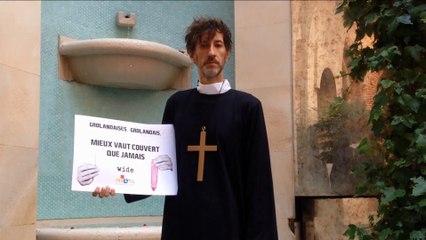 BONTÉ DIVINE - Frère Don Fabijan en place une pour nos amis Grolandais