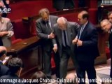 Dernière apparition de Jacques Chaban-Delmas à l'Assemblée