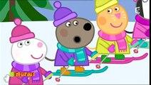 Peppa Pig - La montagne blanche (HD) // Dessins-animés complets pour enfants en Français