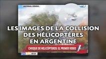 Les images de la collision des hélicoptères en Argentine