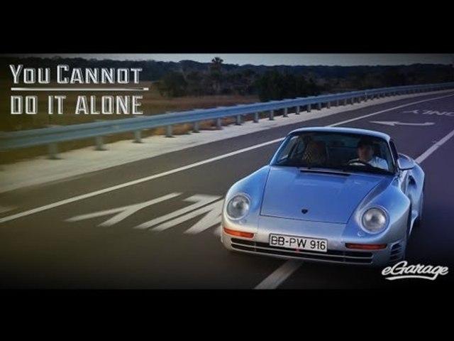You Can't Do it Alone | Porsche 959 | eGarage