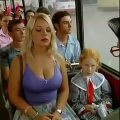 funny incident in bus - real fun