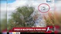 Accident d'hélicoptère en Argentine : les images de la collision