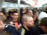 Psg aja boulogne boys ambiance metro