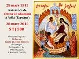 6. Prier avec l'icône de sainte Thérèse d'Avila (5° centenaire)