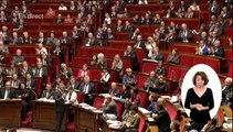 """""""Vous trompez les petits gens"""" lance Valls à la députée FN Marion Maréchal-Le Pen"""