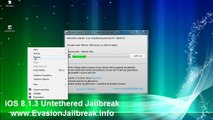 Comment Jailbreak iOS 8.1.3 iPhone Evasion Untethered 6 / 5S , 5C , 4S , 4 , iPod Touch & iPad Mini 5 2 , Air , 4,3